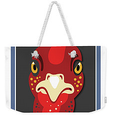 Turkey Stare Jp Weekender Tote Bag