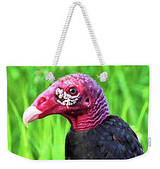 Weekender Tote Bag featuring the photograph Turkey Vulture by Debbie Stahre