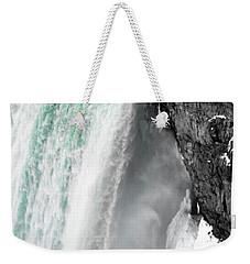 Turquoise Falls Weekender Tote Bag