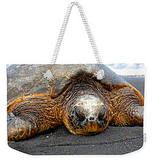 Turtle Rest Stop Weekender Tote Bag