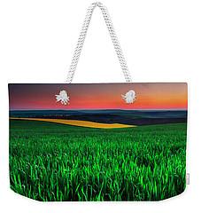 Twilight Fields Weekender Tote Bag