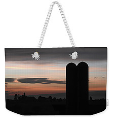 Twilight Silos Weekender Tote Bag