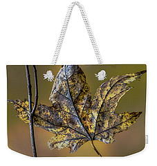 Weekender Tote Bag featuring the photograph Two Buddies by Michael Arend
