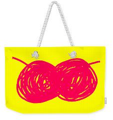 Two Red Cherries Weekender Tote Bag