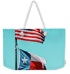 Weekender Tote Bag featuring the photograph Two Republics by SR Green