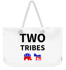 Two Tribes Weekender Tote Bag