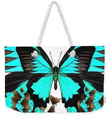 U Is For Ulysses Butterfly Weekender Tote Bag