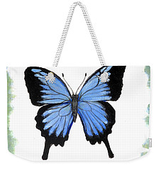 Ulysses Blue Weekender Tote Bag