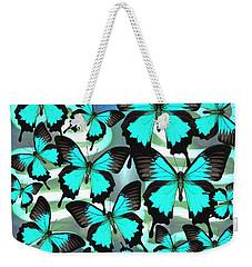 Ulysses Multi Blue 2 Weekender Tote Bag