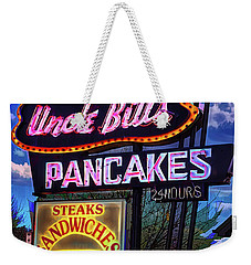 Uncle Bill's Weekender Tote Bag