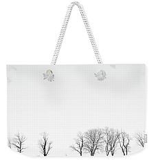 Under A Winter Sky Weekender Tote Bag