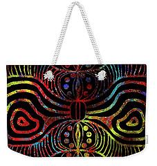 Under The Sea Digital Patterns Of Life Weekender Tote Bag
