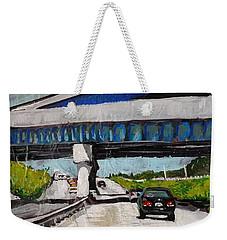 Underpass Z Weekender Tote Bag