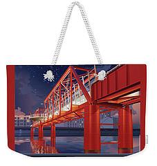 Union Railroad Bridge - Riverwalk Weekender Tote Bag