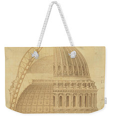 United States Capitol, Section Of Dome, 1855 Weekender Tote Bag