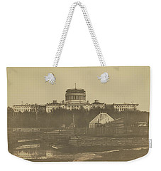United States Capitol Under Construction Weekender Tote Bag