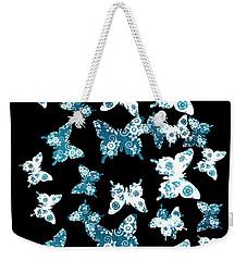 Up Blue Yonder Weekender Tote Bag