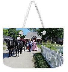 Upper Canada Village Weekender Tote Bag