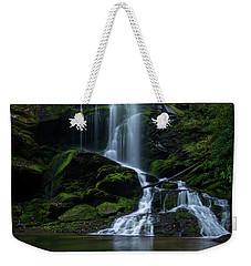 Upper Catawba Falls, North Carolina Weekender Tote Bag