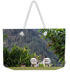 Vacation On Strawberry Hill Weekender Tote Bag