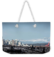 Vacouver Winter 1 Weekender Tote Bag