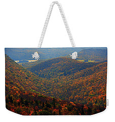 Weekender Tote Bag featuring the photograph Valley Below Mount Greylock 2 by Raymond Salani III