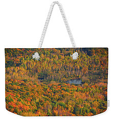 Weekender Tote Bag featuring the photograph Valley From The Summit Of Mount Greylock by Raymond Salani III
