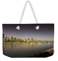 Vancouver In Magical Hours Weekender Tote Bag