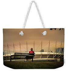 Vancouver Stadium In A Golden Hour Weekender Tote Bag