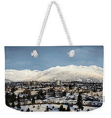 Vancouver Winterscape Weekender Tote Bag