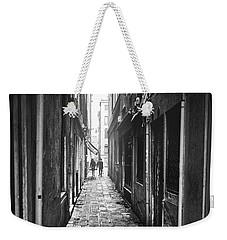 Venetian Alley Weekender Tote Bag