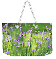 Weekender Tote Bag featuring the photograph Verbena by Tim Gainey