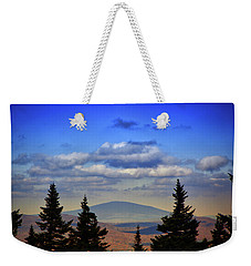 Weekender Tote Bag featuring the photograph Vermont From Mount Greylock Summit by Raymond Salani III
