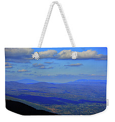 Weekender Tote Bag featuring the photograph Vermont From The Summit Of Mount Greylock 3 by Raymond Salani III