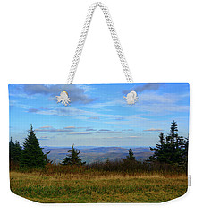 Weekender Tote Bag featuring the photograph Vermont From The Summit Of Mount Greylock by Raymond Salani III