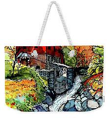 Vermont Red Weekender Tote Bag