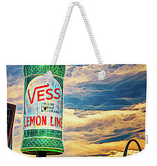 Vess Soda Bottle Weekender Tote Bag