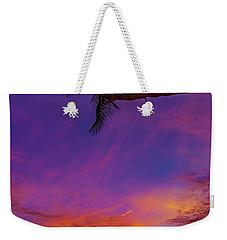 Vibrant Kona Inn Sunset Weekender Tote Bag
