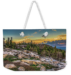 Weekender Tote Bag featuring the photograph View From Dolly Sods 4714 by Donald Brown