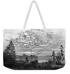 Weekender Tote Bag featuring the photograph View Of Boston Harbor by Unknown