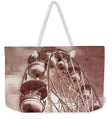 Vintage Ferris Wheel Weekender Tote Bag