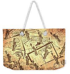 Vintage New York Post Weekender Tote Bag