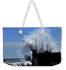 Violence On A Calm Day Weekender Tote Bag