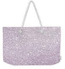 Weekender Tote Bag featuring the photograph Violet Glitter by Top Wallpapers