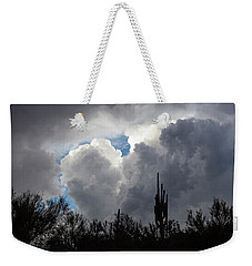 Weekender Tote Bag featuring the photograph Visions Beyond by Rick Furmanek