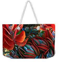 Vivid Paddle-leaf Succulent Weekender Tote Bag