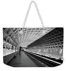 Waiting At Pentagon City Station Weekender Tote Bag