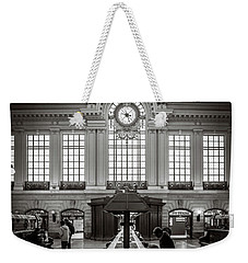 Weekender Tote Bag featuring the photograph Waiting Room by Steve Stanger