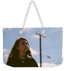 Weekender Tote Bag featuring the photograph Walking by Carl Young