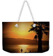 Walking Down The Beach Weekender Tote Bag